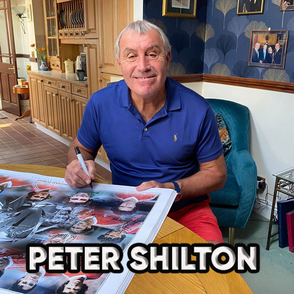 Peter Shilton Signed