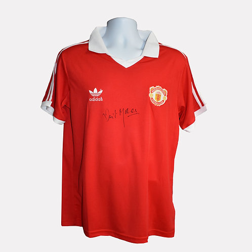 Ian Storey-Moore Signed Manchester United Shirt