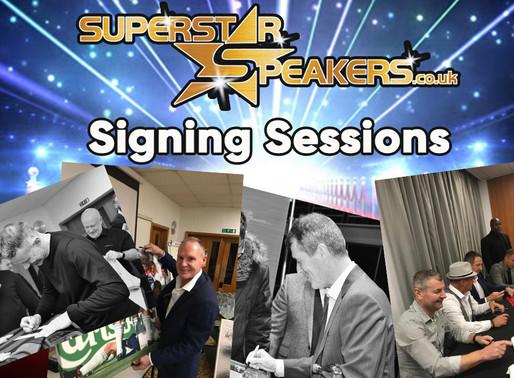 Superstar Speakers Celebrity Signings