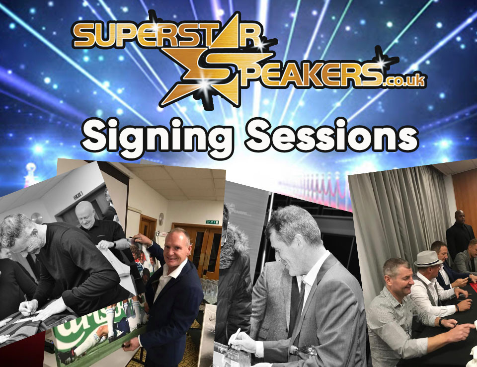 Signing Sessions with Superstar Speakers