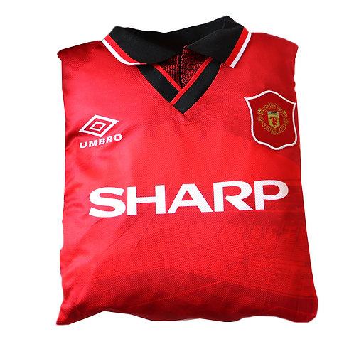 Manchester United 1994 - 1996 Home Shirt Cushion