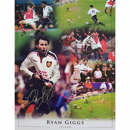 Ryan Giggs 1999 FA Cup Goal Montage Signed
