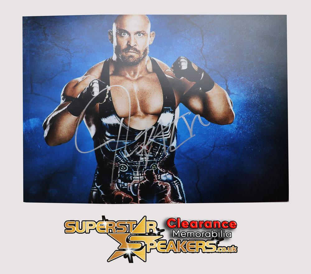 Ryback WWE Wrestling Signed Memorabilia
