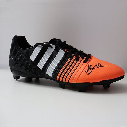 Bruno Fernandes Manchester United Signed Football Boot