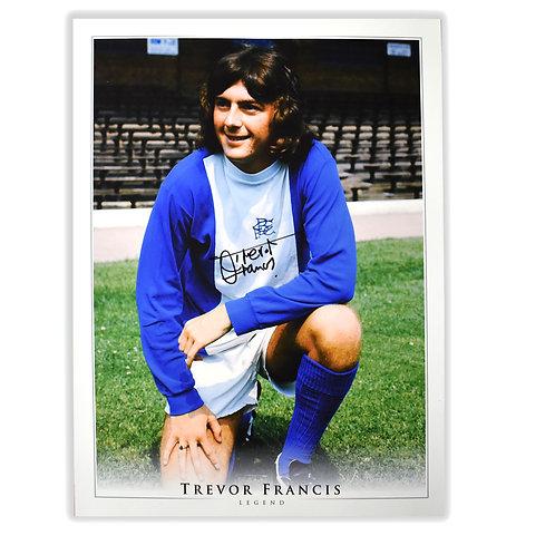 Trevor Francis Birmingham City Signed Picture