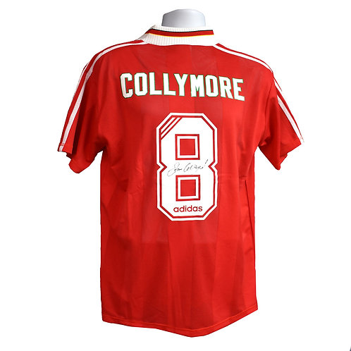 Stan Collymore Liverpool Signed Home Shirt