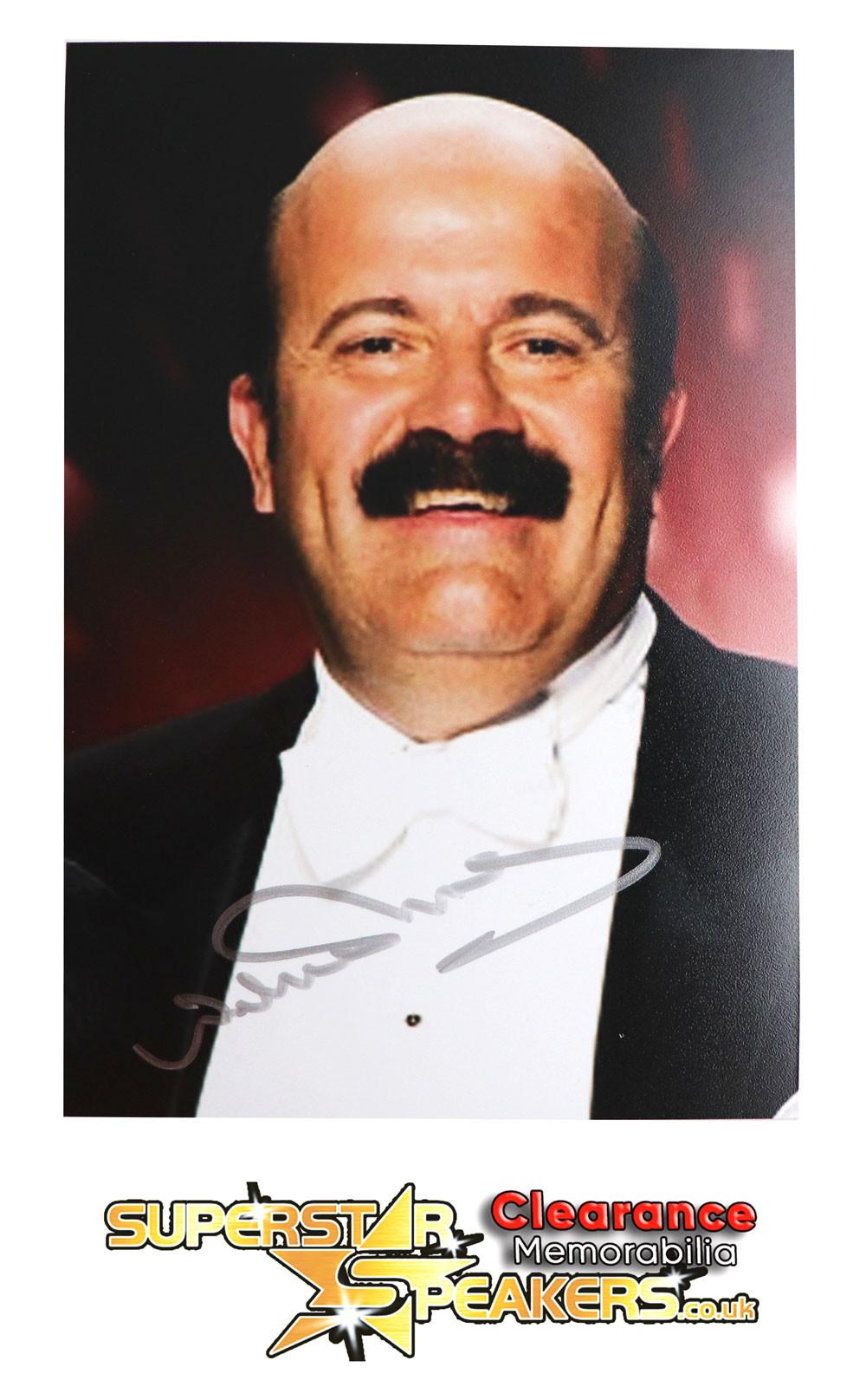 Willie Thorne Snooker Signed