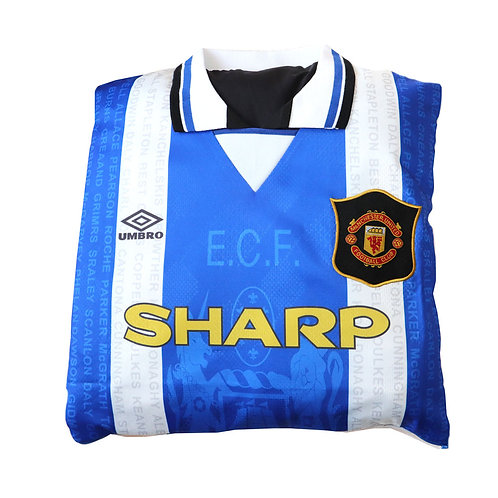 Manchester United 1994 - 1996 Third Shirt Cushion