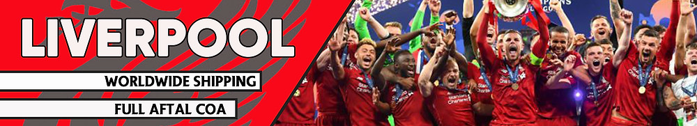 Liverpool Signed Memorabilia