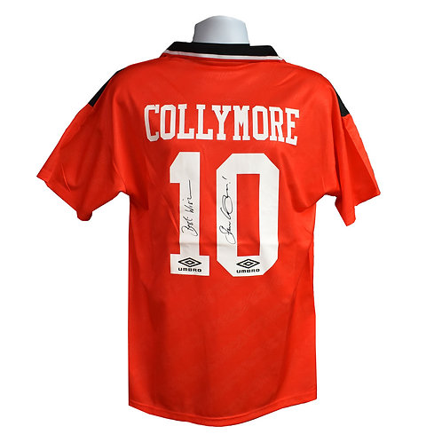 Stan Collymore Nottingham Forest Signed Shirt - Signed Back
