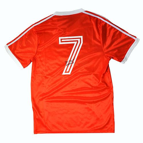 Trevor Francis Nottingham Forest Signed Shirt - Signed on Back