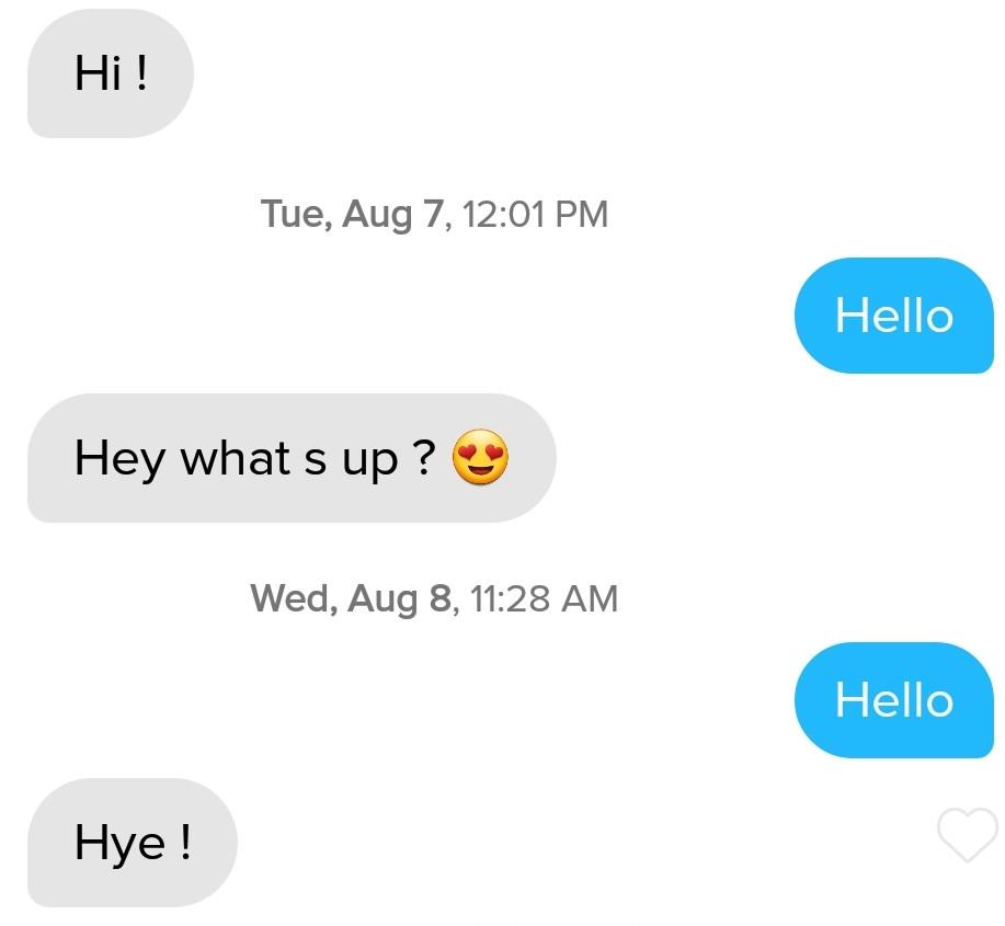 3 men I'm sick of talking to online