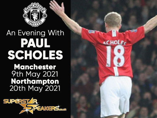 An Evening With Paul Scholes - Northampton and Manchester