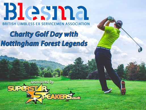 Blesma Charity Golf Day with the Nottingham Forest Legends