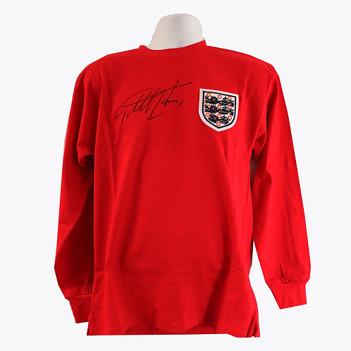 Sir Geoff Hurst 1966 Signed England Shirt