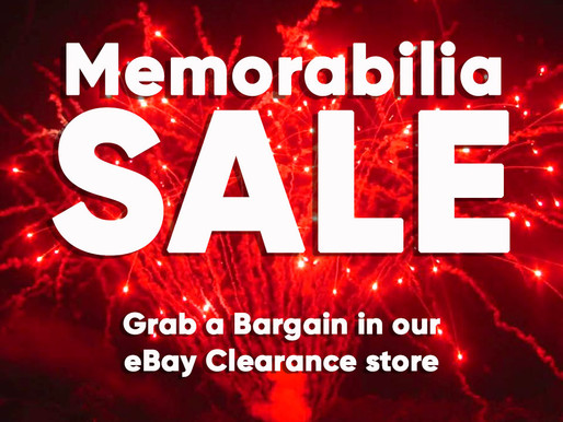 Superstar Speakers Memorabilia Sale - Grab yourself a bargain on our new eBay Store