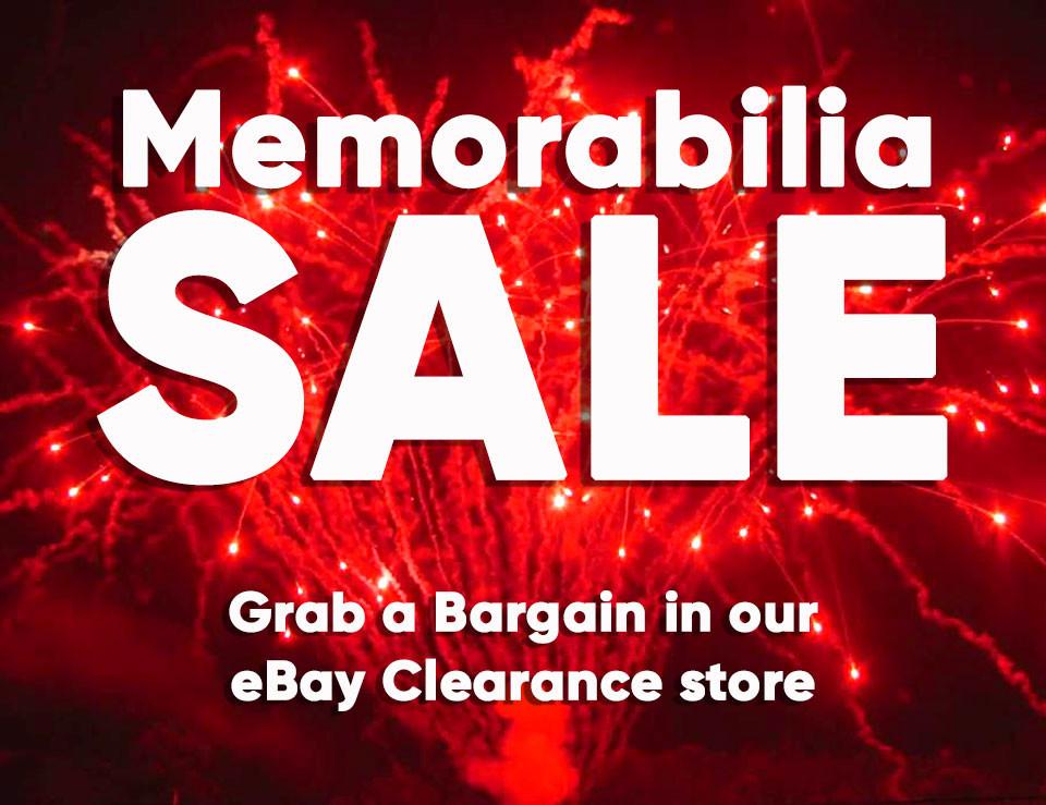 Clearance Bargains memorabilia