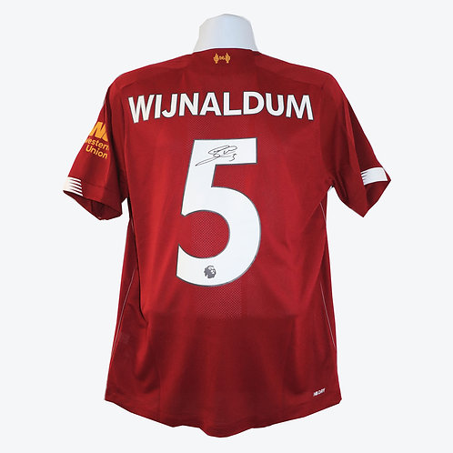 Georginio Wijnaldum SIgned Liverpool Shirt