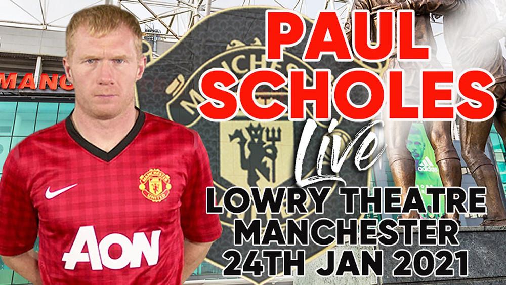 Paul Scholes in Manchester