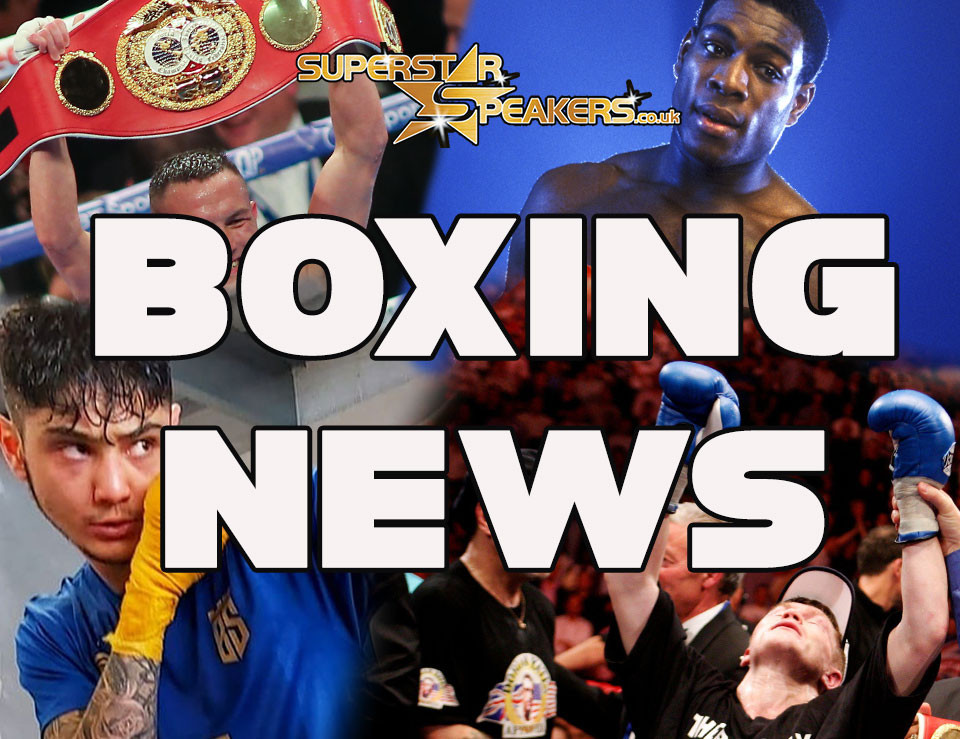 Supertstar Speakers Boxing News