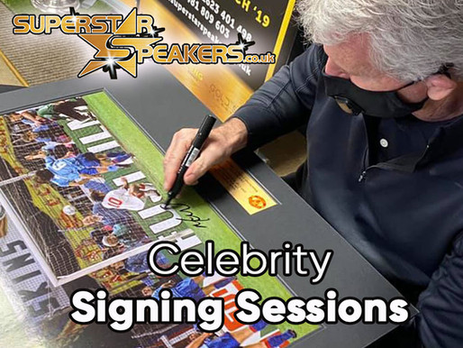 Superstar Speakers Celebrity Signings