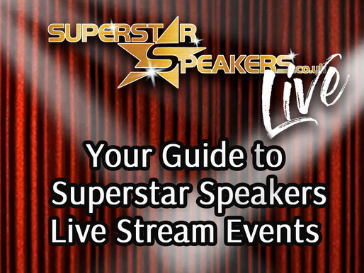 Your Guide to Superstar Speakers Live Stream Events