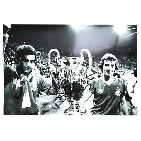 Trevor Francis Signed European Cup Photo