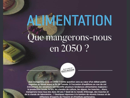 ALIMENTATION : QUE MANGERONS NOUS DANS 30 ANS ?