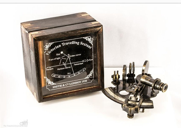 Antique Victorian Travelers Sextant