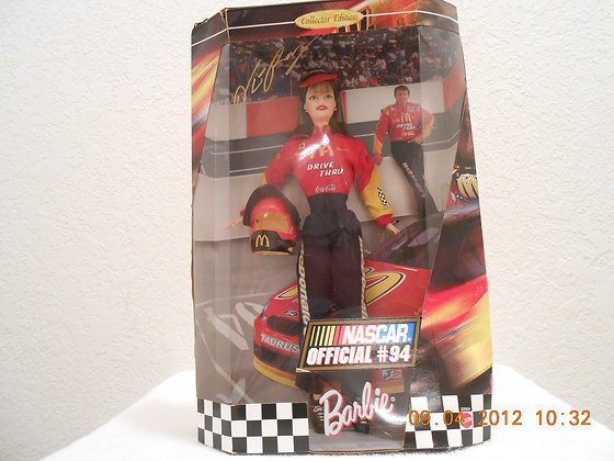 Barbie Doll Nascar #94