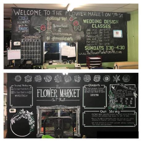 Flower Market on 7th Street