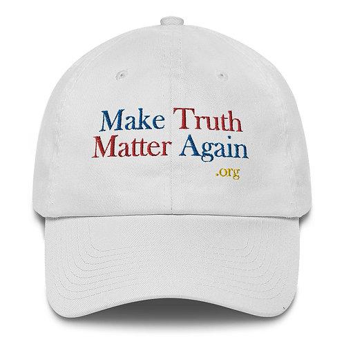 MTMA Baseball Cap, Made in America