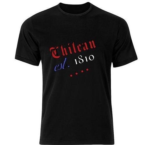 Chilean est 1810 t-shirts