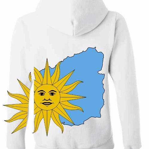 My Map Uruguayan Hoodie