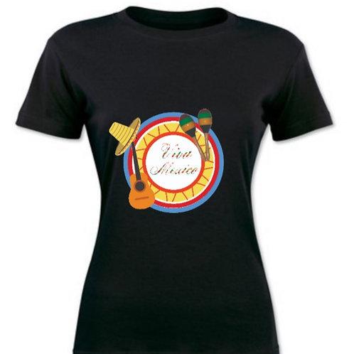 Woman T-shirt Viva Mexico
