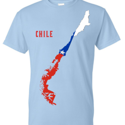 Chilean Map t-shirt