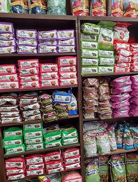 Soil bags, Plant Food bags, Espoma