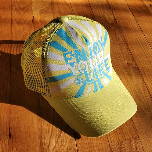 Unisex | Hat | Burst | Yellow