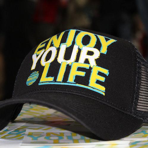 Unisex | Trucker Hat | Big Silk | Black