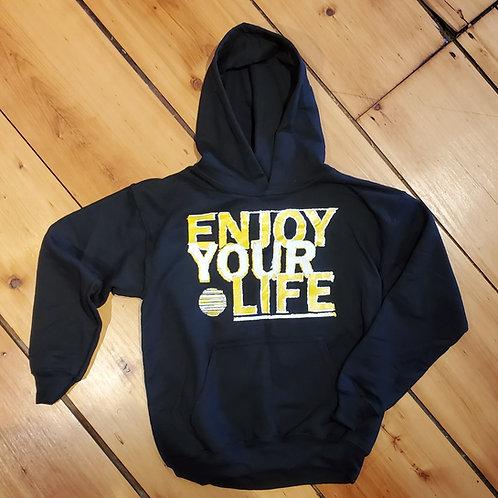 Youth | Hooded Sweatshirt | Foundation | Black