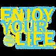 ENJOY YOUR LIFE - THUMB BASIC LOGO - FOR