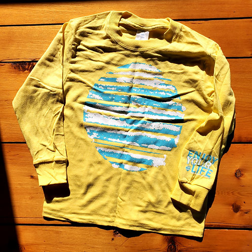 Youth | Long Sleeve-T | Sun Out | Yellow