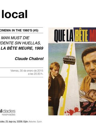 Localidades reservadas_Noir cinema in the 60's_#5_ACCIDENTE SIN HUELLA_CLAUDE CHABROL_1969