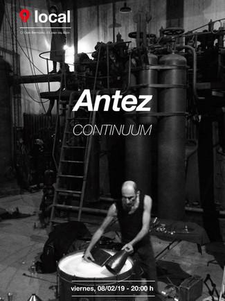 Antez. CANCELADO! 06/02/2019