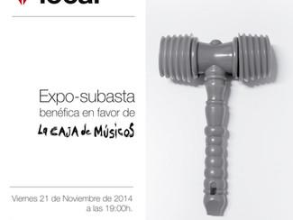 Lacolecta_Expo-subasta colectiva en favor de La Caja de Músicos_21/10/2014_19:00h