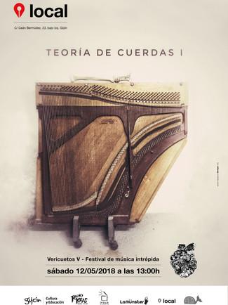 TEORÍA DE CUERDAS (I) en Vericuetos V. Festival de música intrépida 12/05/2018