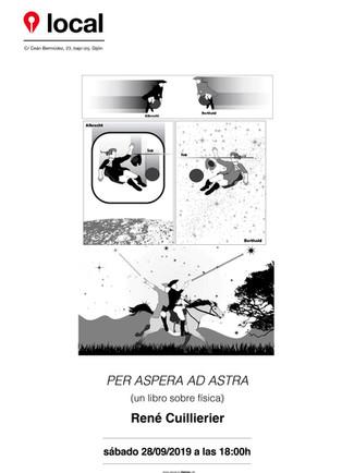 Per aspera ad astra (un libro de física) de René Cuillierier. Sábado 28/09/19 a las 18:00h