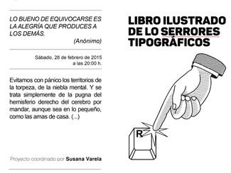 El libro de lo serrores tipográficos_Susana Varela_sábado 28/02/2015_20:00h.