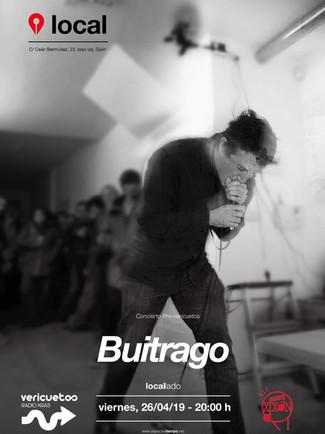 Buitrago. Viernes, 26/04/19 - 20:00 h