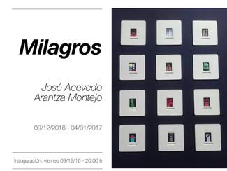 Milagros de José Acevedo y Arantza Montejo